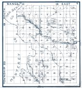 Sheet 005 - Township 19 and 20 S., Ranges 12 and 13 E., Fresno Hot Springs, Gibson, , White Creek, Fresno County 1923